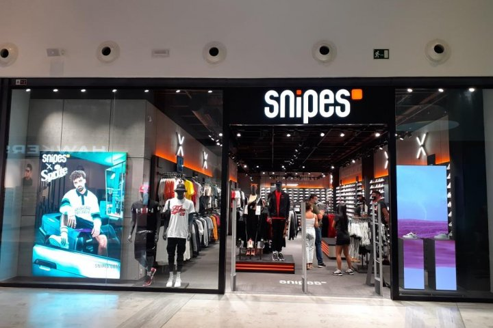 snipes mirador shopping